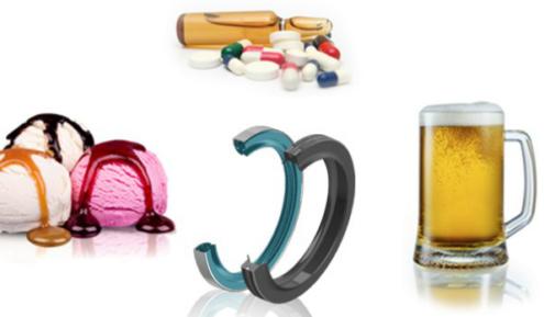 Gama de retenes certificados FDA exterior
