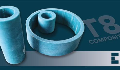 Material composite para guías T8 Epidor SRT